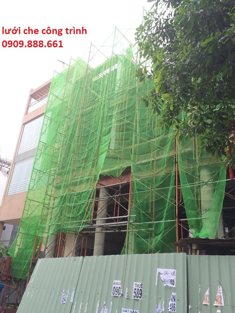 lưới che công trình