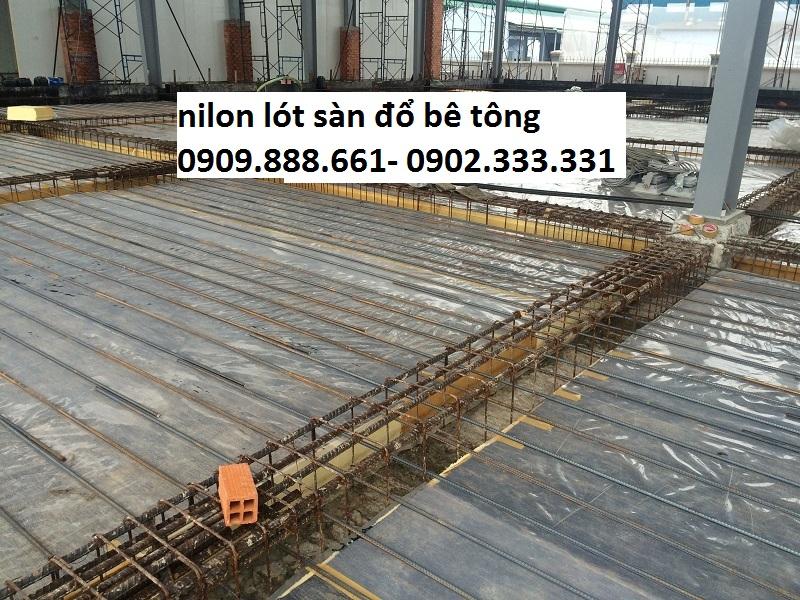 báo giá nilon lót bê tông