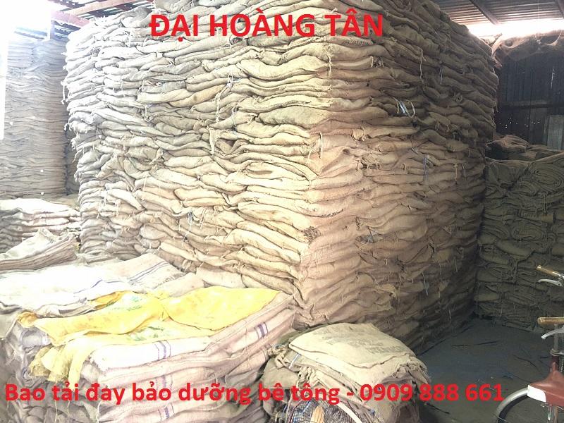 Bao tải đay bảo dưỡng bê tông